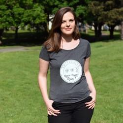Triblend t-shirt woman B&C