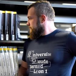 T-shirt Murphy homme coloris Bleu Ardoise